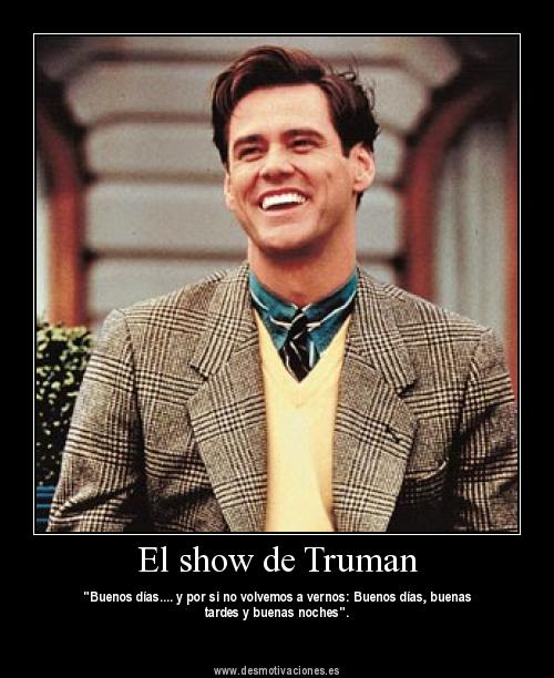 "synthesis of truman show and platos The truman show and ""the allegory of the cave"" is an example of what human's sees is the only truth they know in allegory of the cave, plato inquires the reader to imagine humans chained in a cave all their life facing a blank wall."